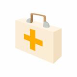 Medicine chest icon, cartoon style