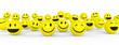 Smileys mit guter Laune