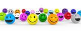 Smileys mit guter Laune - 111662329