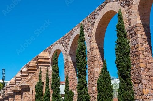 Foto op Plexiglas Havana Aqueduct of Zacatecas, Mexico