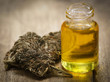 Постер, плакат: Medicinal cannabis with extract oil