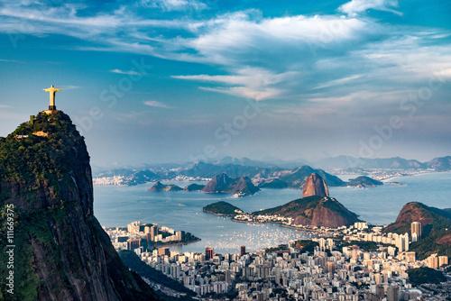 Rio De Janeiro Aerial Poster