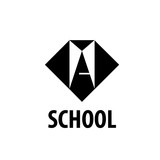 vector logo School