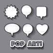 pop art expression design