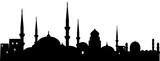 Orient Stadt schwarz // Vektor