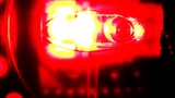 Abstract Red Light Glowing