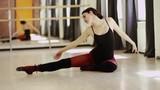 beautiful girl wearing ballet leotard