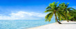 Strandurlaub Panorama im Sommer