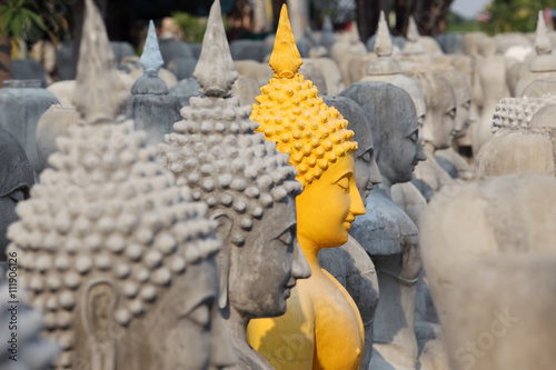 Poster buddha statue
