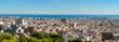 Skyline panorama of Barcelona, Spain