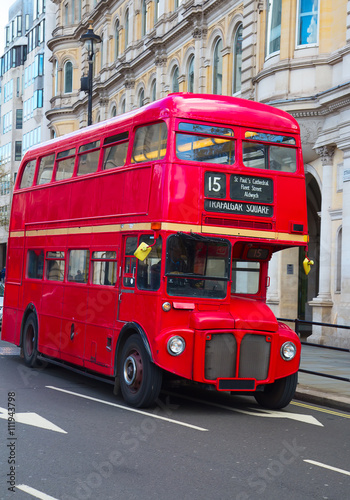 Poster Double decker