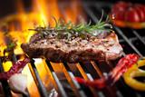 Fototapety Steak vom Grill