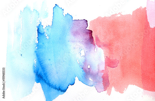 abstract watercolor background design - 111968333