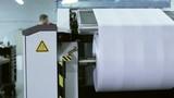 Industrial digital inkjet printing process