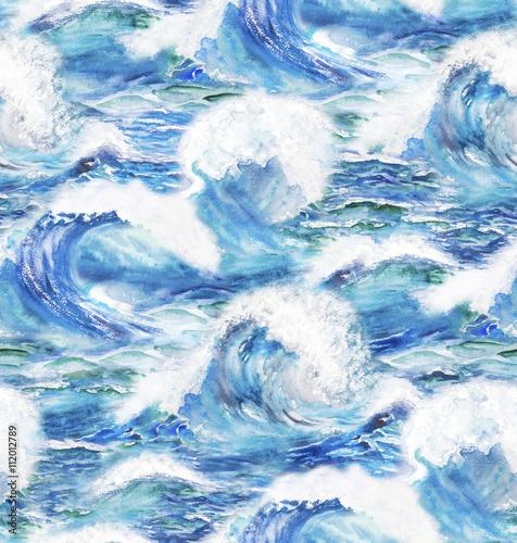 Obraz stormy ocean waves