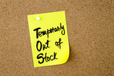 Business Acronym TOS Temporarly Out Of Stock
