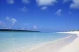 宮古島の東洋一美しい前浜ビーチの白い砂浜
