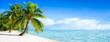 Traumstrand auf einer einsamen Insel im Pazifik