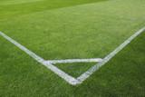 Fußballfeld Ecke