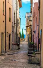 Fototapeta Attigliano (Umbria), Włochy - piękne miasteczko w regionie Umbria, w prowincji Terni