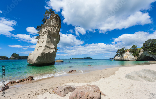 Papiers peints Cathedral Cove Coromandel