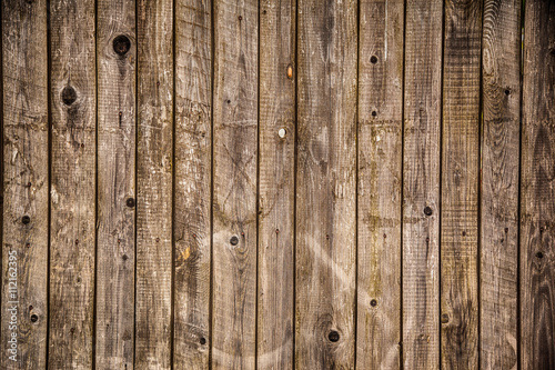 rustic weathered barn wood background - 112162395