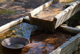 Gold pan and sluice