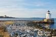 The Portland Breakwater Lighthouse (Bug Light), Maine