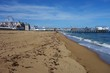 The seaside resort town of Old Orchard Beach in Maine