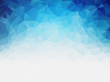 grained geometric blue ice texture background