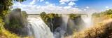 Fototapety Victoria Falls Africa Panorama