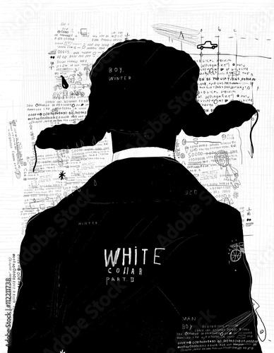 Мужчина в зимней шапке © moypapaboris