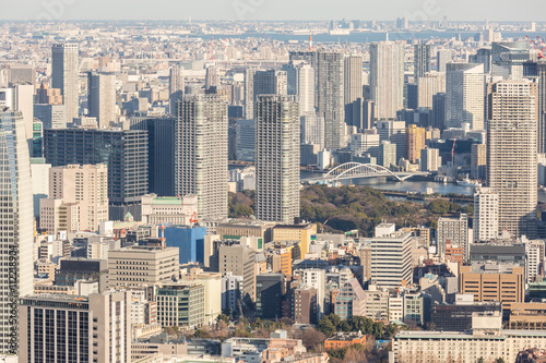 Fototapeta Japan skyscrapers
