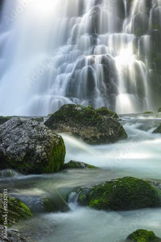 Panel Szklany Wasserfall