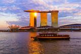 Fototapety Singapore city skyline