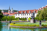 Wallenstein Gardens, Lesser Town (UNESCO), Prague, Czech Republic