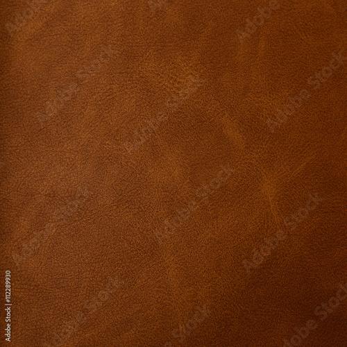 Fotobehang Stof Brown leather texture