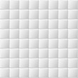 Materiał do szycia Connected squares of paper with deformed petals cut on the edges and shadows in the cutout.  Seamless vector texture. Seamless pattern. Vector geometric background.
