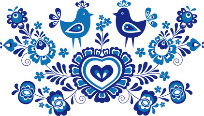 Folk ornaments