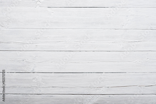White wood texture background - 112373725