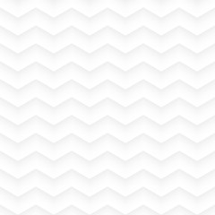White zig zag geometric seamless background
