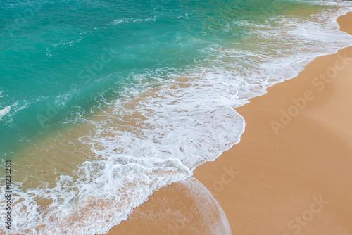 Poster Beach Carvalho of Algarve, Portugal