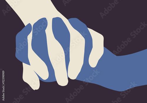 Main dans la main - Paix - Fraternité - 112398989
