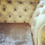 Corner of a fancy sofa