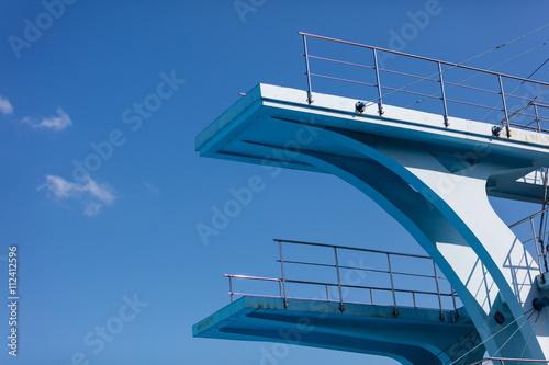 Plexiglas Rio de Janeiro Olympic diving platform