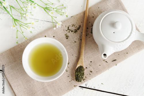 Foto Murales Japanese green tea