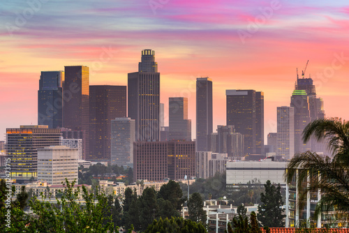 Plakat Los Angeles Skyline