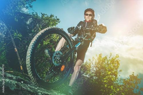 Foto op Plexiglas Motorsport Extreme Bike Ride