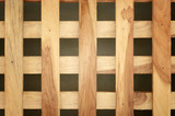 wooden cross or lattice wall