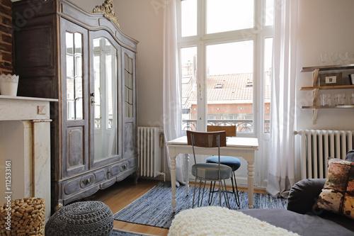 studio aménagé style parisien